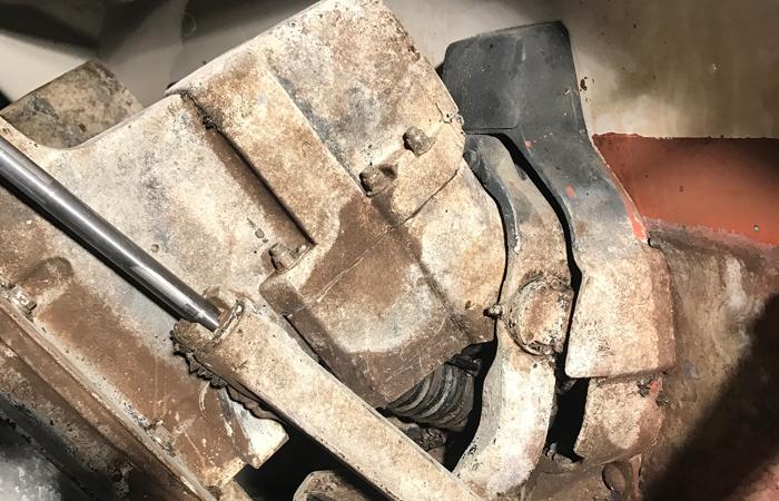 Maschinenreinigung durch Trockeneisstrahlen