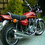 Oldtimerreinigung Motorrad durch Trockeneisstrahlen